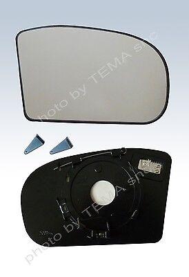 piastra vetro specchio MERCEDES CLASSE C W203 00-06 Destro termico retrovisore