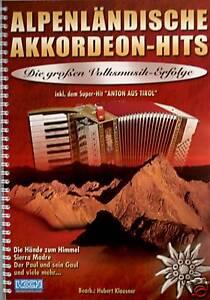 Akkordeon-Noten-Alpenlaendische-Akkordeon-Hits-mit-CD-leichte-Mittelstufe-ms