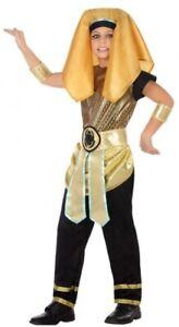 Garçons Filles Noir Égyptien Cléopâtre Livre Jour Costume Déguisement Tenue 3-12 Ans-afficher Le Titre D'origine Garantie 100%