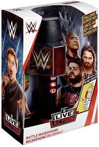 WWE FXR16 Live Action Talking Battle Microphone Wrestling superstar Sound FX