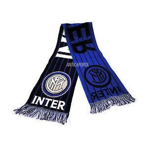 Sciarpa-Inter-2-Originale-Milano-Jaquard-FC-INTERNAZIONALE-Stadio-Sped-GRATIS