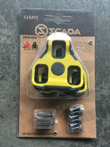 black// yellow Scada Look Kleo Cleats
