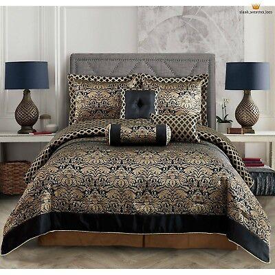 Gold Elephant Bedding Black And Gold Comforter Set Yeswevibe