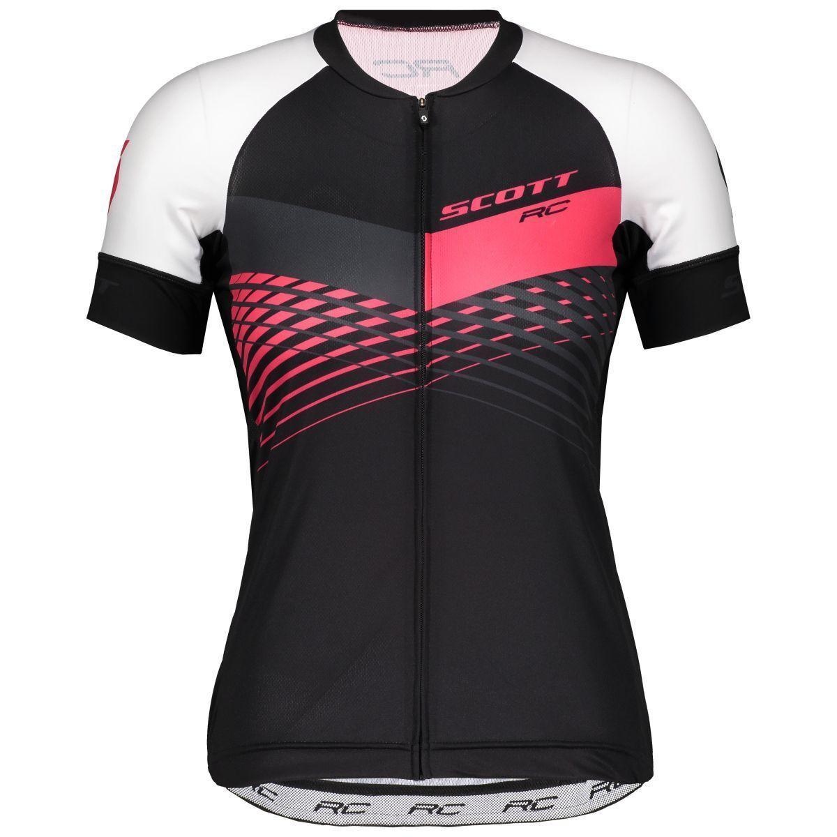 Scott RC Pro Damen Fahrrad Trikot kurz schwarz/Rosa 2019