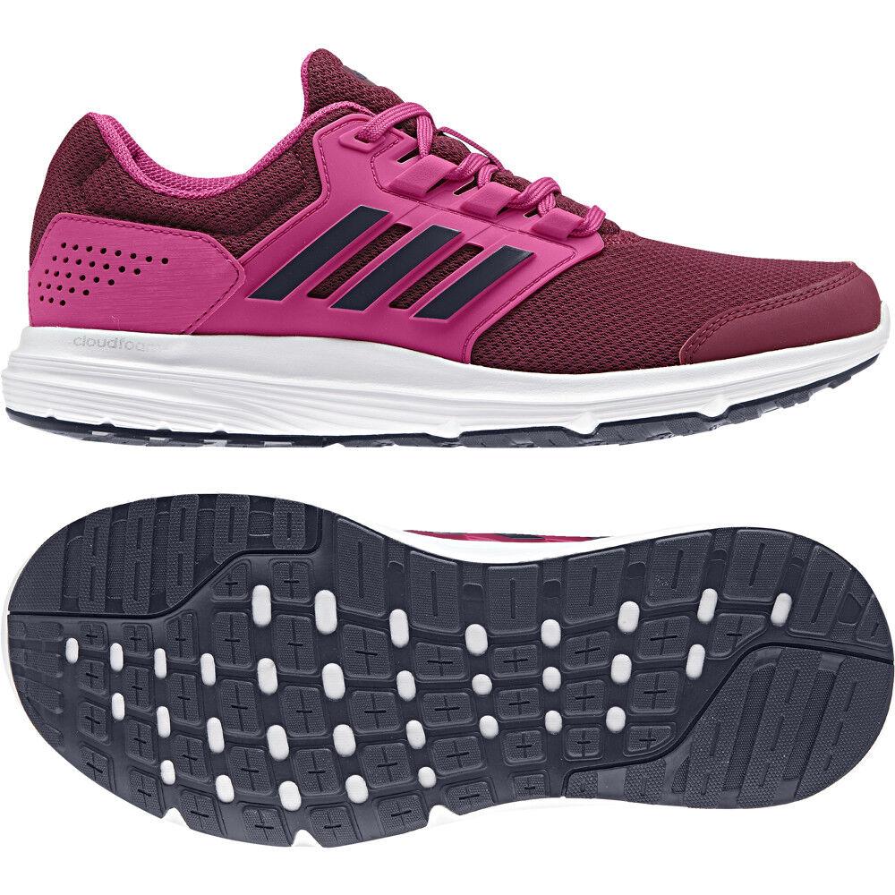 Adidas Galaxy 4 W Ladies Magenta B44725 Running Trainers Size UK 5 - 8.5