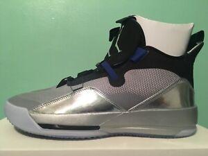 236465e2a9cd47 Nike Air Jordan 33 XXXIII All-Star Metallic Silver Mens Sz 8-13 ...