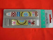 SWATCH CINTURINO x Gent VISIONNAIRE in BLISTER - GK346 - 2001 - NEW strap band