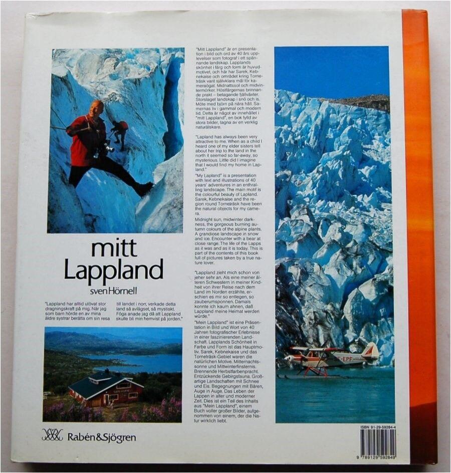 MITT LAPPLAND , Sven Hörnell, emne: natur og teknik