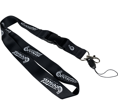 Boosted Status Quick Release Lanyard Keychain Keyring Neck Strap Pink