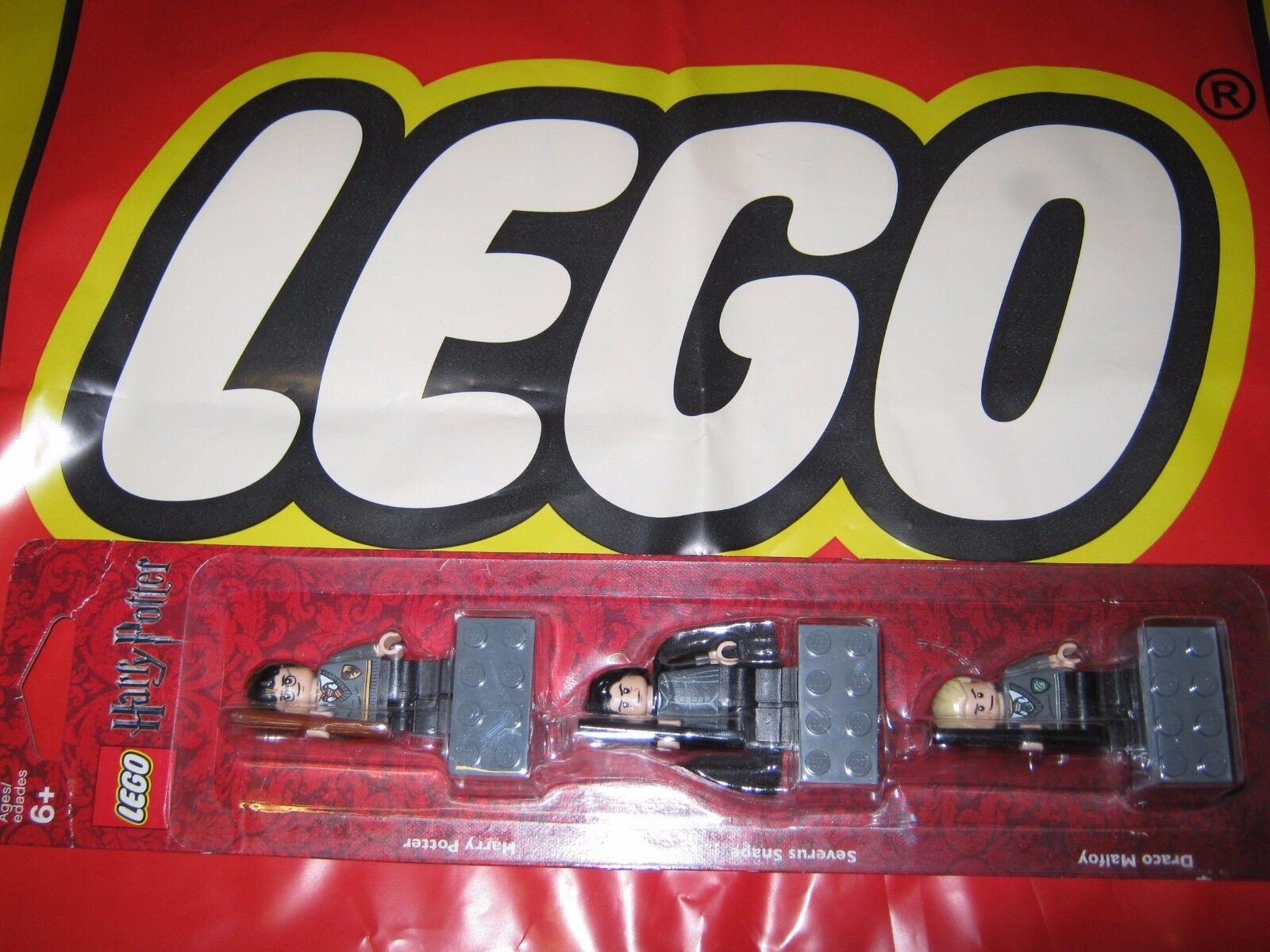 Lego 852983 Harry Potter magnet Figurine Set Drago Malefoy Severus Rogue NEUF