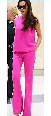 NWT Victoria Beckham Target Women's Fuschia Tank Top Size M *sold out in stores*