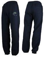 Men's Nike Air Max Fleece Jogging Jogger Tracksuit Navy Sweat Pants Bottoms