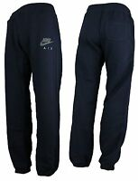 Men's Nike Air Max Fleece Jogging Jogger Tracksuit Navy Sweat Pants Bottoms