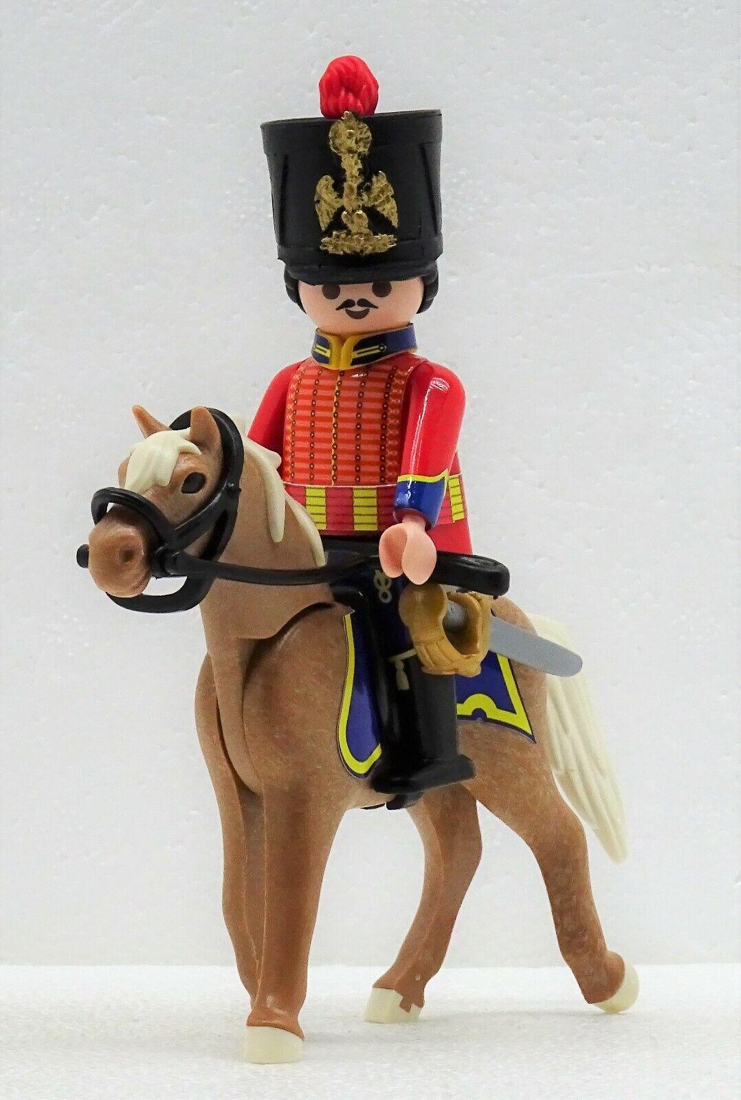 Chasseur Ussaro rot C Playmobil   Francese Cavalieri Cavallo Napoleonic