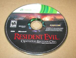 Resident-Evil-Operation-Raccoon-City-Game-Only-Xbox-360-Fast-Shipping