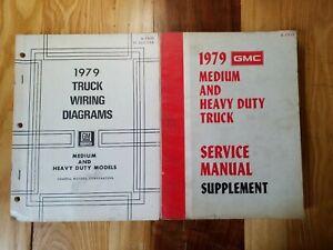 1979 GMC Chevy Medium Heavy Duty Truck Wiring Diagram ...
