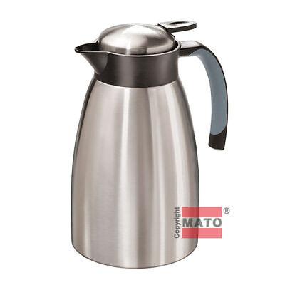 Emsa Senator Isolierflasche Kaffee Tee Edelstahl 1 L Kanne 618101600