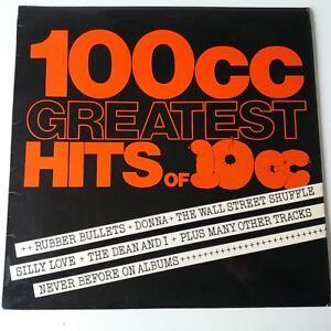 10CC-100CC-Greatest-Hits-Best-Of-Vinyl-Album-LP-UK-1st-Press-Insert-EX-EX