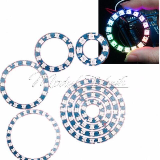 7-Bit 8-bit 12-bit 16-bit 24-bit 60-bit RGB LED Stripe mit WS2812B 5050 SMD LEDs