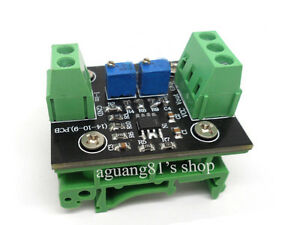 Current to Voltage Transmitter Signal Module 4-20MA to 0-5V Linear Conversion