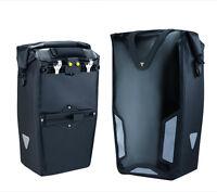 Topeak Pannier Cycle Waterproof Dry Bag Dx Black - Single - Tt9829b