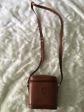 Mark Cross Vintage Benchley Crossbody Brown Leather Hand Bag