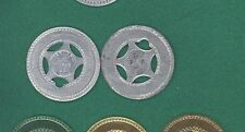 Custom Good Luck Metal Typer Coin Token Birthday STANDARD COMPANY/GOOD LUCK
