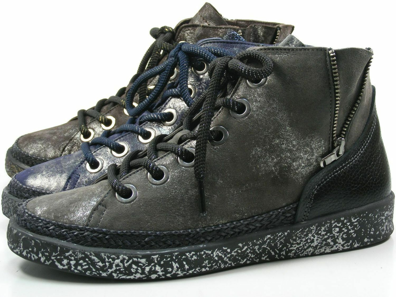 Softwaves 7-01-15 zapatos zapatos zapatos señora zapato bajo cortos schnürzapatos 1818c9