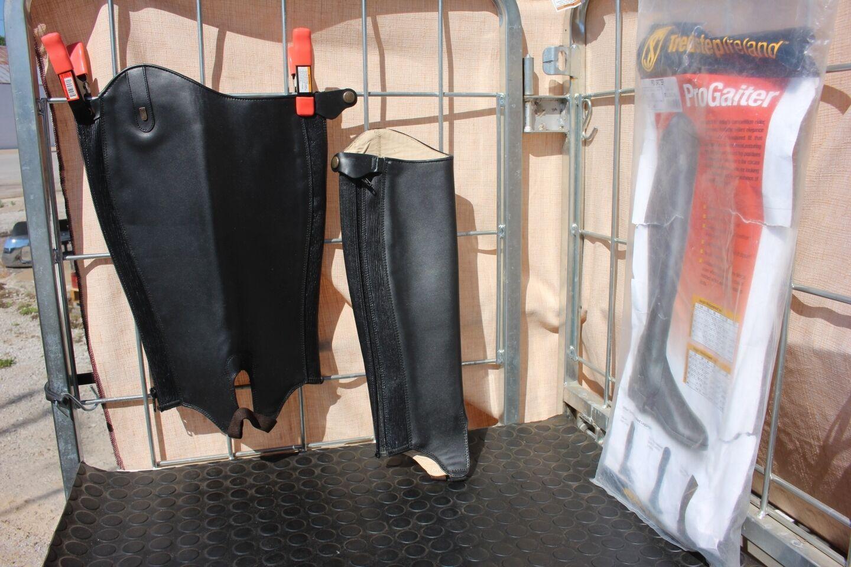 34-11 Brand New treadstep Irlande en cuir noir progaiter était 190 Mollet 12 HT 15