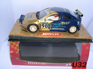 Ninco 50161 Slot Car Renault Megane Catalogne Costa Brava 1998 Lted.ed