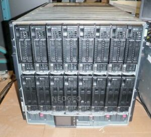 HP-C7000-Server-Blade-Enclosure-16x-BL460C-G8-2x-Eight-Core-E5-2670-2-6GHz-128GB
