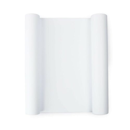 WHITE Heat Transfer Vinyl HTV for T-Shirts 12 Inches by 10 Feet Rolls White