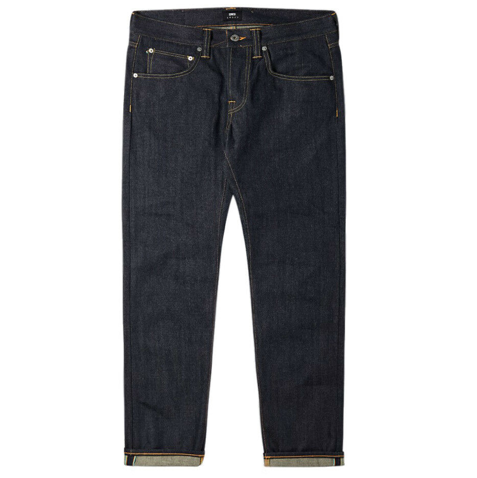 EDWIN 55 Regular Tapered Jeans Raw Denim Rainbow Selvage I022387_F9_99