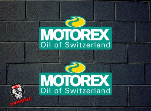 STICKER STICKER ADESIVI AUFKLEBER DECAL MOTOREX RACING OIL