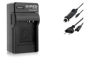 CGA-S005 Cargador de Batería para Panasonic Lumix DMC-LX1 DMC-LX2 DMC-LX3 DMC-LX9