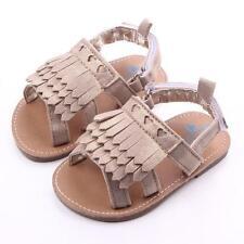 Baby Tassel Sandals Toddler Princess First Walkers Girls Kid Shoes
