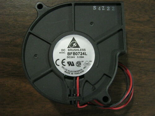 BFB0724L QTY 1 NEW DELTA PRODUCTS BRUSHLESS FAN DC24V 0.09A NEW PRODUCT RARE