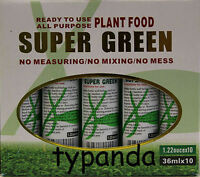 20 Bottle Of Super Green Green Lucky Bamboo Plant Food.