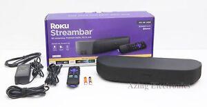 Roku Streambar 9102R 4K HDR Media Streamer and Audio Bar w/ Voice Remote