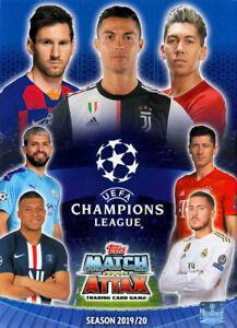Topps Champions League 19 20 2019 2020 sal8 patrick Farkas