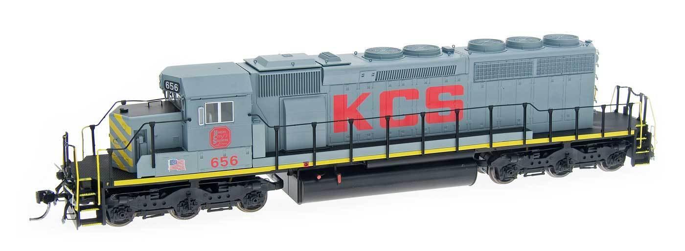 Escala HO-Intermountain 49332S-04 Ciudad Kansas Sur SD40-2  656 DCC y Sonido