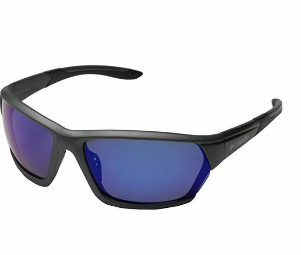 Columbia New Sunglasses Gunmetal Frames bluee Polarized Lens