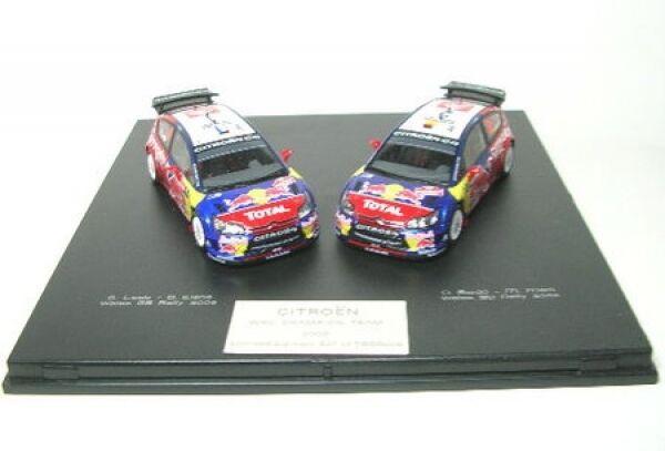 Citroen C4 WRC Champion-Set Rally 2008