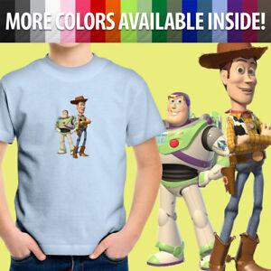 Toy-Story-Buzz-Lightyear-Sheriff-Woody-Friends-Unisex-Kids-Tee-Youth-T-Shirt