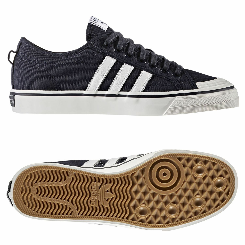 Adidas Originaux Agréable Agréable Originaux Baskets en Toile Marine Baskets Skateboard HOMME b93bdd