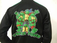 Nwt Men's Sm Teenage Mutant Ninja Turtles Power Striped Nickelodeon Track Jacket