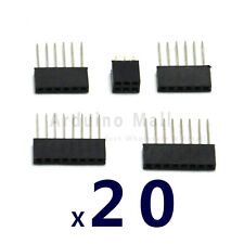 New 100PCS Stackable Shield Header Set Kit 6 8 Pin Tall For Arduino Shield
