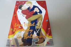 Doujinshi-Hannibal-Yaoi-Lecter-Will-A5-32pages-Nitamonodoushi-Love-Hotel-RB