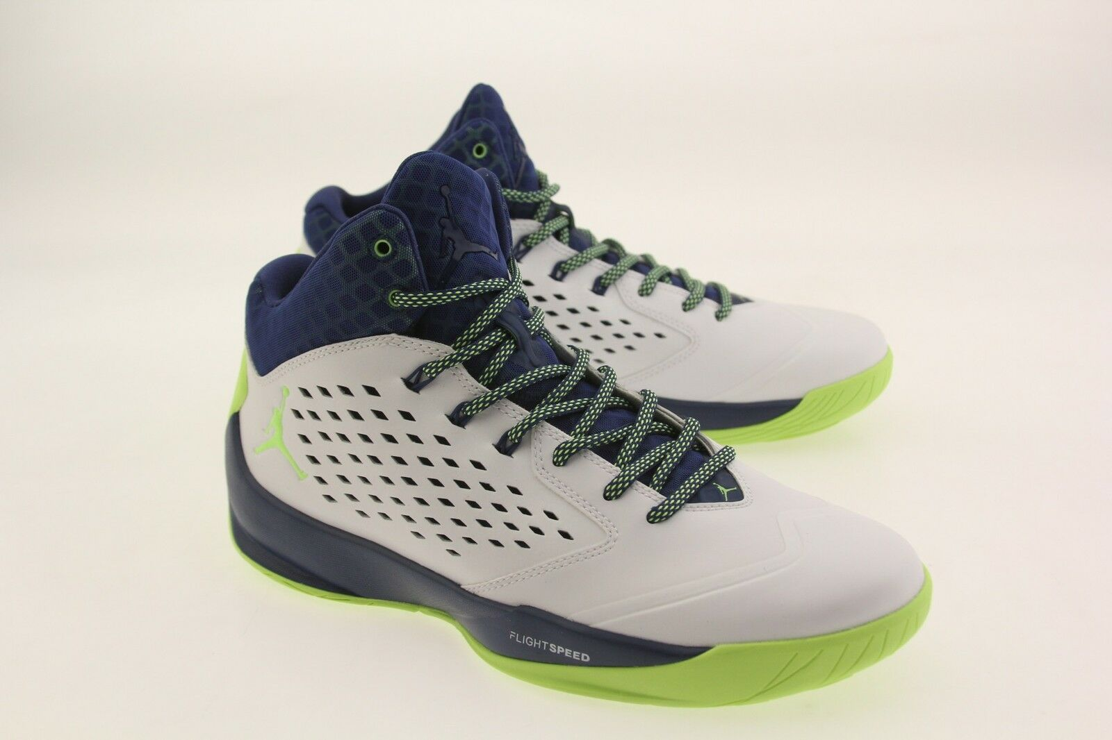 Jordan Men Rising High  white ghost green insignia blue infrared23 The most popular shoes for men and women