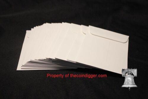 50 Coin Envelope Slab Holder Case 3x4.5 Everslab Quickslab PCGS NGC ANACS White